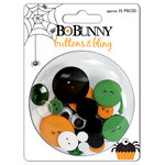 Bo Bunny Press - Boo Crew Collection - Halloween - Buttons and Bling - Boo Crew, CLEARANCE