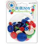 Bo Bunny Press - Block Party Collection - Buttons and Bling, CLEARANCE