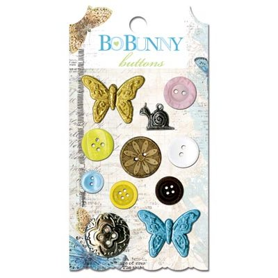 Bo Bunny - Country Garden Collection - Buttons