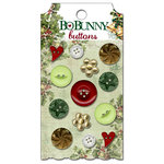 Bo Bunny Press - Father Christmas Collection - Buttons