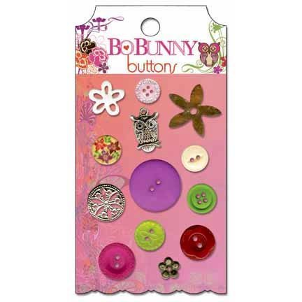 Bo Bunny - Garden Girl Collection - Buttons
