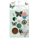 Bo Bunny Press - Gabrielle Collection - Buttons