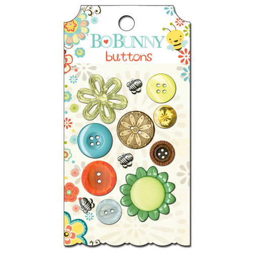 Bo Bunny - Hello Sunshine Collection - Buttons