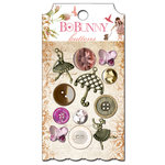 Bo Bunny Press - Little Miss Collection - Buttons