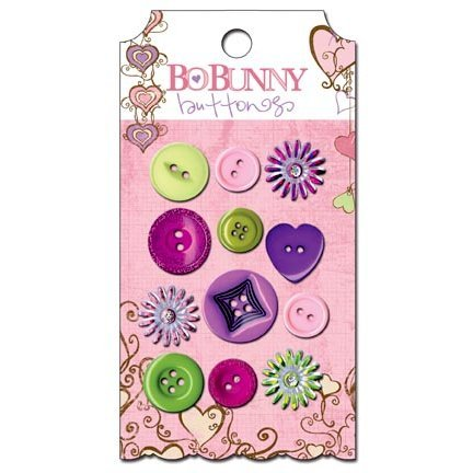 Bo Bunny - Smoochable Collection - Buttons