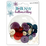 Bo Bunny Press - Snowy Serenade Collection - Buttons and Bling, CLEARANCE