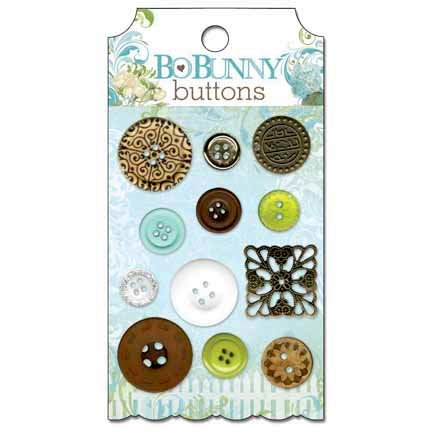 Bo Bunny - Welcome Home Collection - Buttons