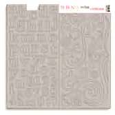 Bo Bunny Press - Double Dot - Chipboard - Bare Naked