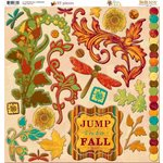 Bo Bunny - Forever Fall Collection - 12 x 12 Chipboard Stickers