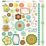 Bo Bunny - Hello Sunshine Collection - 12 x 12 Chipboard Stickers