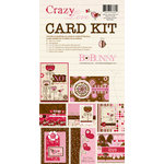 Bo Bunny Press - Crazy Love Collection - Valentine - Card Kit