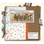 Bo Bunny Press - All in One Kit - Authentic Boy 9x9 Binder Album