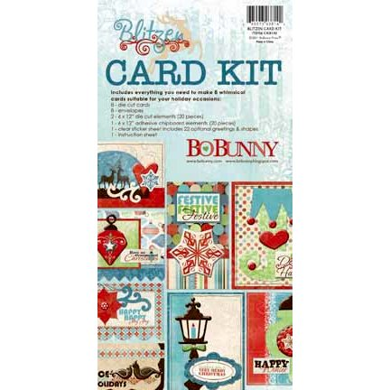 Bo Bunny - Blitzen Collection - Christmas - Card Kit