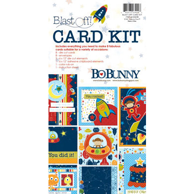 Bo Bunny Press - Blast Off Collection - Card Kit