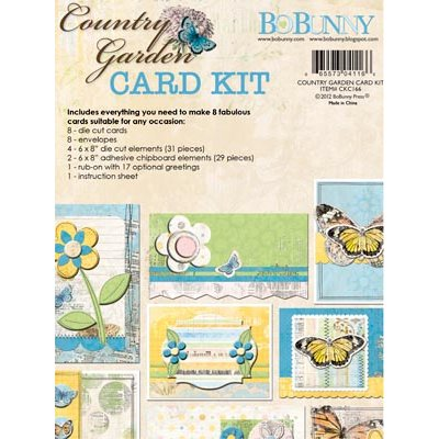 Bo Bunny - Country Garden Collection - Card Kit