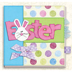 Bo Bunny Press - All in One Kit - Easter 6x6 Board Book Album