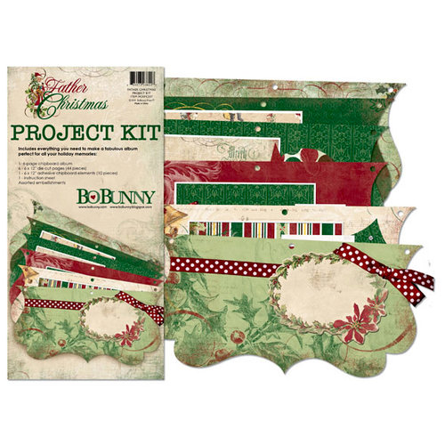 Bo Bunny - Father Christmas Collection - Project Kit