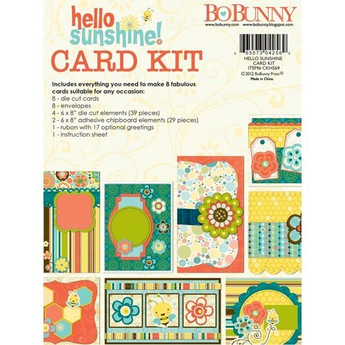 Bo Bunny - Hello Sunshine Collection - Card Kit