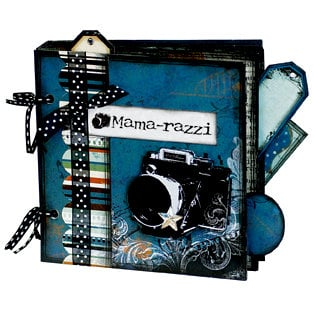 Bo Bunny Press - Mama-razzi Collection - 6 x 6 Album Class Kit - Mama-razzi, BRAND NEW