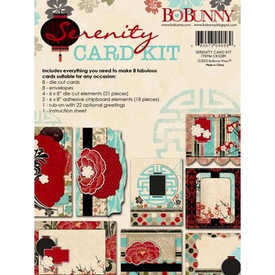 Bo Bunny - Serenity Collection - Card Kit