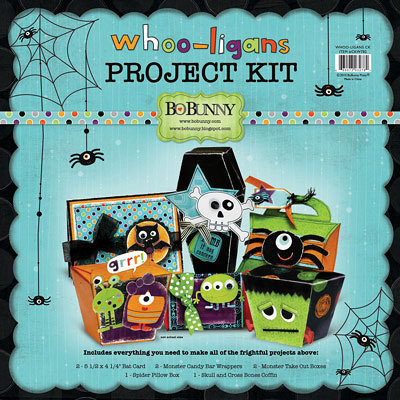 Bo Bunny Press - Whoo-ligans Collection - Halloween - Class Kit