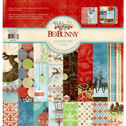 Bo Bunny Press - Blitzen Collection - Christmas - 12 x 12 Collection Pack