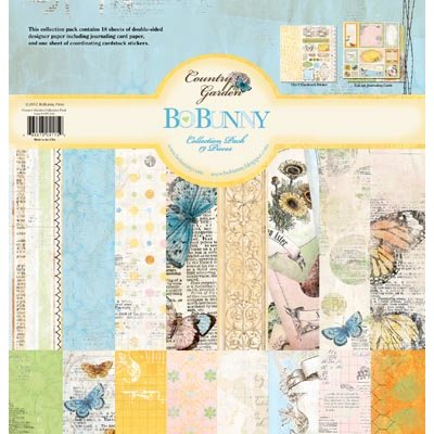 Bo Bunny Press - Country Garden Collection - 12 x 12 Collection Pack