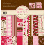 Bo Bunny Press - Crazy Love Collection - Valentine - 12 x 12 Collection Pack