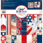Bo Bunny Press - Liberty Collection - 12 x 12 Collection Pack