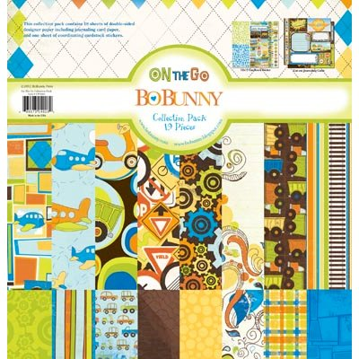 Bo Bunny - On The Go Collection - 12 x 12 Collection Pack