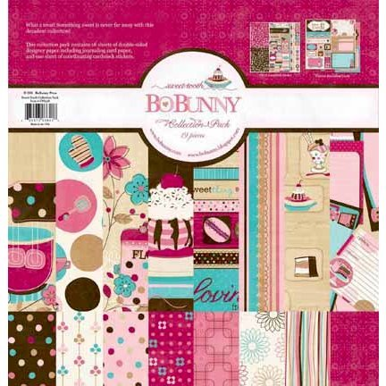 Bo Bunny Press - Sweet Tooth Collection - 12 x 12 Collection Pack