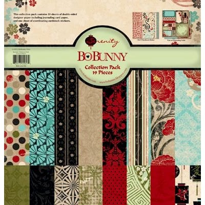 Bo Bunny Press - Serenity Collection - 12 x 12 Collection Pack