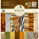 Bo Bunny - Zoology Collection - 12 x 12 Collection Pack