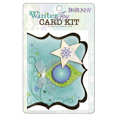 Bo Bunny Press - Winter Joy Collection - Christmas - Card Kit