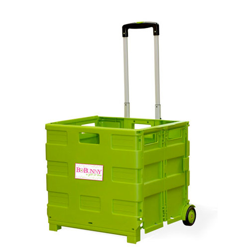 Bo Bunny Press - Rolling Cart - Green