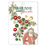 Bo Bunny Press - St. Nick Collection - Christmas - I Candy Jewels - Holly Berry , CLEARANCE