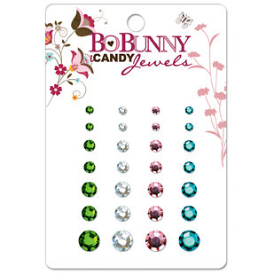 Bo Bunny Press - Sophie Collection - I Candy Jewels - Sophie, CLEARANCE