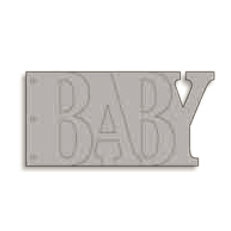 Bo Bunny Press - Album - My Word - Baby