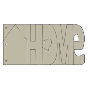 Bo Bunny Press - My Word Chipboard Albums - Home