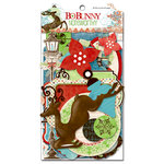 Bo Bunny - Blitzen Collection - Christmas - Note Worthy Journaling Cards