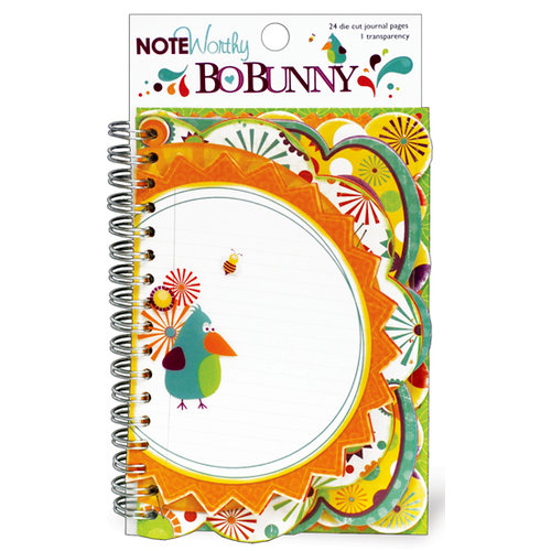 Bo Bunny Press - Sun Kissed Collection - Note Worthy Journaling Cards - Fun In The Sun
