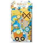 Bo Bunny - On The Go Collection - Note Worthy Journaling Cards
