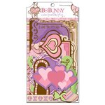 Bo Bunny Press - Smoochable Collection - Note Worthy Journaling Cards