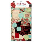 Bo Bunny - Serenity Collection - Note Worthy Journaling Cards