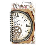 Bo Bunny - Timepiece Collection - Note Worthy Journaling Cards - Timepiece