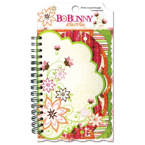 Bo Bunny - Vicki B Collection - Note Worthy Journaling Cards - Vicki B