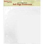 Bo Bunny Press - Page Protectors for the 9x9 Bare Naked Binder - 12 Pack