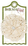 Bo Bunny Press - Noel Collection - Christmas - Petals - Antique Lace
