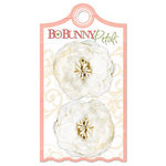 Bo Bunny Press - Olivia Collection - Petals - Cream Gardenia