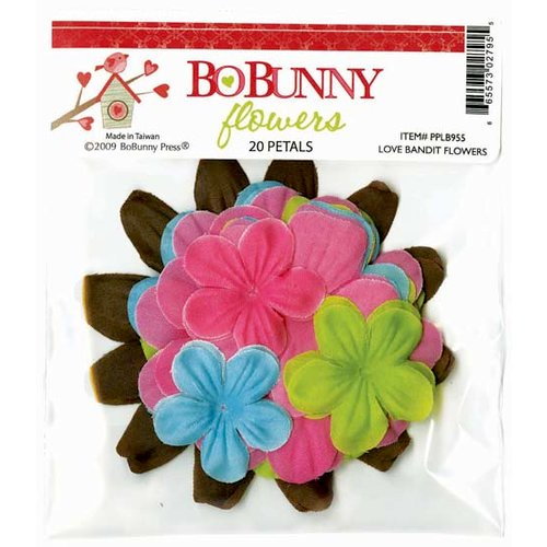 Bo Bunny Press - Love Bandit Collection - Flowers, CLEARANCE